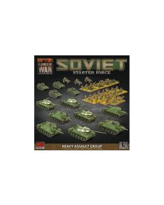 Battlefront SUAB13 Soviet Late War 'Heavy Assault Group'  Gaming Miniatures