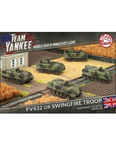 Battlefront TBBX02 FV432 or Swingfire Troop (5 Vehicles) Gaming Miniatures