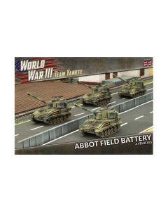 Battlefront TBBX06 Abbot Field Battery (4 SP Guns) Plastic Gaming Miniatures
