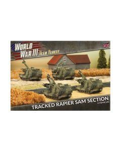 Battlefront TBBX07 Tracked Rapier SAM Section (4 Vehicles) Gaming Miniatures