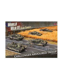 Battlefront TBBX11 Challenger Armoured Troop (5 Tanks) Plastic Gaming Miniatures