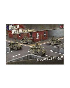 Battlefront TBBX13 Fox Recce Troop (4 Vehicles) Plastic Gaming Miniatures