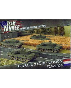 Battlefront TDBX01 Leopard 2 Tank Platoon (5 Tanks) Plastic Gaming Miniatures