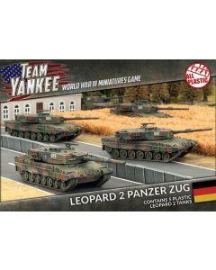 Battlefront TGBX01 Leopard 2 Tank Platoon (5 Tanks) Plastic Gaming Miniatures