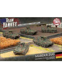 Battlefront TGBX02 Marder Zug (5 AFVs) Plastic Gaming Miniatures