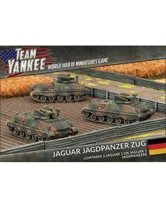 Battlefront TGBX04 Jaguar Jagdpanzer Zug (3 Vehicles) Plastic Gaming Miniatures