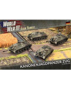 Battlefront TGBX16 Kanonenjagdpanzer Zug (4 Tank Destroyers) Plastic Miniatures