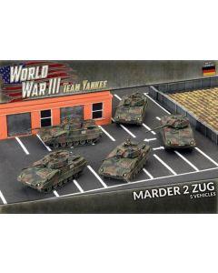 Battlefront TGBX19 Marder II Zug (5 AFVs) Plastic Gaming Miniatures