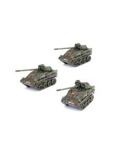 Battlefront TGR001 Wiesel FK 20mm Flugabwehr Zug (3 Vehicles) Gaming Miniatures