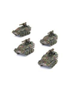 Battlefront TGR002 Wiesel TOW Panzerabwehrzug (4 Vehicles) Gaming Miniatures