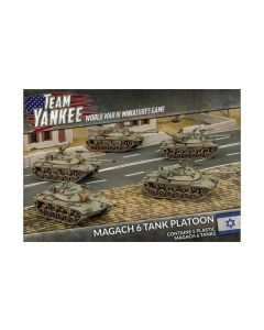 Battlefront TIBX02 Magach 6 Tank Platoon (5 Tanks) Plastic Gaming Miniatures