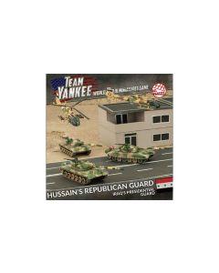 Battlefront TIQAB01 Hussein's Republican Guard (3 Tanks, 2 Helos) Miniatures