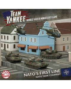 Battlefront TNAAB1 NATO's Front Line (3 Tanks, 2 Helos) Gaming Miniatures