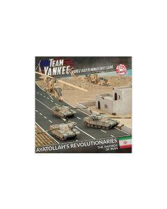 Battlefront TRNAB01 Ayatollah's Revolutionaries (3 Tanks, 2 Helos) Miniatures