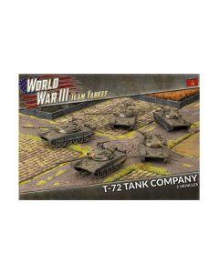 Battlefront TSBX01 T-72 Tankovy Company (5 Tanks) Plastic Gaming Miniatures