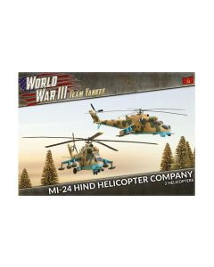Battlefront TSBX04 Mi-24 Hind Helicopter Company (2 Helos) Gaming Miniatures