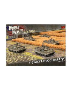 Battlefront TSBX22 T-55AM Tank Company (5 Tanks) Plastic Gaming Miniatures