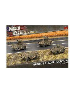 Battlefront TSBX24 BRDM Platoon (4 Vehicles) Plastic Gaming Miniatures
