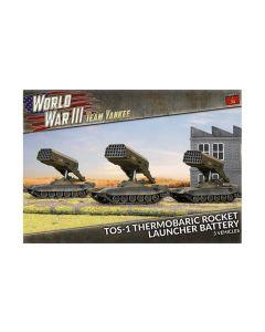 Battlefront TSBX25 TOS-1 Rocket Launcher Battery (3 Launchers) Gaming Miniatures