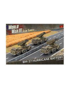 Battlefront TSBX26 BM-27 Hurricane Rocket Launcher Battery (3) Gaming Miniatures