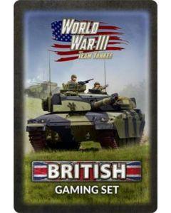 Battlefront TTK21 World War III Team Yankee British Gaming Set
