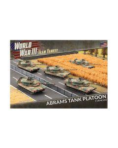 Battlefront TUBX18 Abrams Tank Platoon (5 Tanks) Plastic Gaming Miniatures