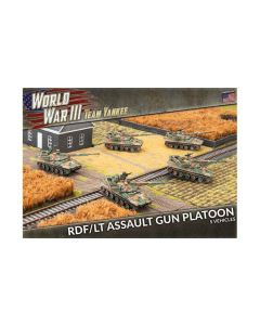 Battlefront TUBX20 RDF/LT Assault Gun Platoon (5 Vehicles) Gaming Miniatures
