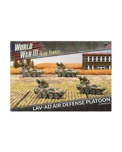 Battlefront TUBX22 LAV-AD Air Defense Platoon (4 Vehicles) Gaming Miniatures