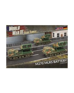 Battlefront TUBX25 M270 MLRS Rocket Battery (3 Vehicles) Gaming Miniatures