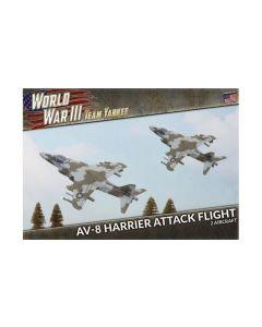 Battlefront TUBX26 AV-8 Harrier Attack Flight (2 Aircraft) Gaming Miniatures
