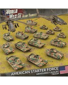Battlefront TUSAB04 American Starter Force: Armored Cavalry Gaming Miniatures
