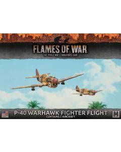Battlefront UBX52 P-40 Warhawk Fighter Flight (2 Aircraft) Plastic Miniatures