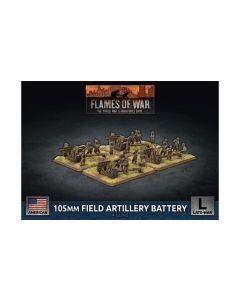 Battlefront UBX77 105mm Field Artillery Battery (4 Guns) Gaming Miniatures
