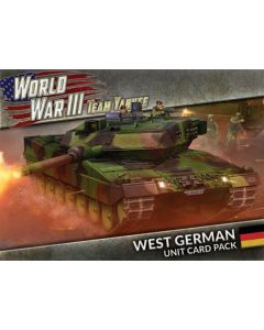 Battlefront WW305U World War III: West German Unit Cards
