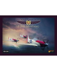 Blood Red Skies US P-51D Mustang Squadron Plastic Gaming Miniatures