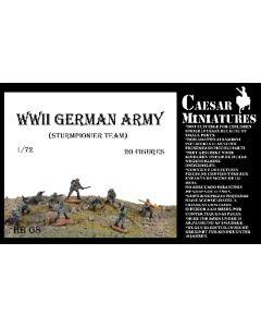 Caesar Miniatures HB8 WWII German Sturmpionier Team 1/72 Scale Model Figures