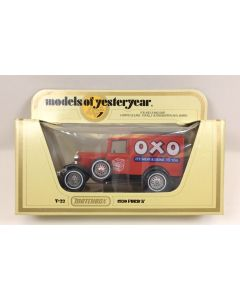 Matchbox Models of Yesteryear Y-22 1930 Ford 'A' OXO It's Meat and Drink to You