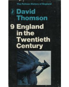 England in the Twentieth Century by David Thompson 1970 Paperback
