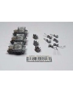 GHQ G562 Mobelwagen Unpainted 1/285 Scale Micro Armour Set of 3