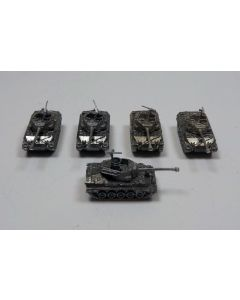 GHQ US43 M18 with MG Assembled & Unfinished 1/285 Scale Micro Armour Set of 5