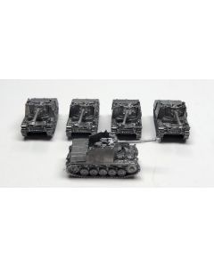 GHQ G116 Marder II Assembled & Unfinished  1/285 Scale Micro Armour Set of 5
