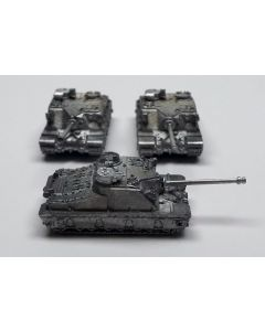 GHQ N533 Tortoise Assembled & Unfinished 1/285 Scale Micro Armour Set of 3