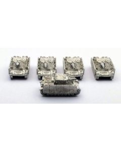 GHQ G48 Brumbar Assembled & Unfinished 1/285 Scale Set of 5