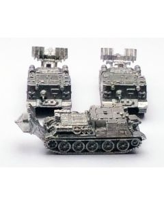 GHQ R23 VT-34 Recovery Vehicle Assembled & Unfinished 1/285 Scale Set of 3