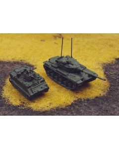 US Army M60 & M113 ACAV Olive Green Assembled & Finished 1/285 Scale