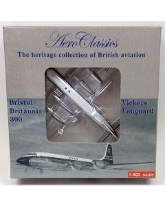 AeroClassics Caledonian Bristol Britannia 312 'G-ATNZ' 1/400 Scale Diecast Model