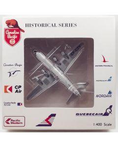 AeroClassics Canadian Pacific DC-6 'CF-CZV' 1/400 Scale Diecast Model