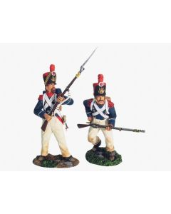 William Britain 17847 French Light Infantry Grenadiers Assault Set #1