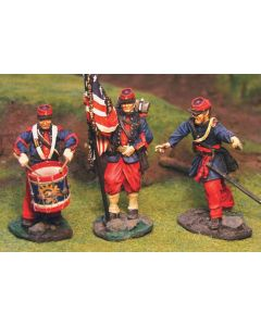 Collectors Showcase CS00270 14th Brooklyn Command Set 54 mm Toy Soldiers