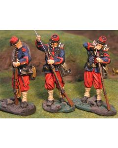 Collectors Showcase CS00272 14th Brooklyn Loading Set 54 mm Toy Soldiers